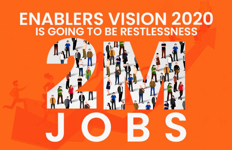 ENABLERS VISION [2020] – 2 MILLION NEW JOBS