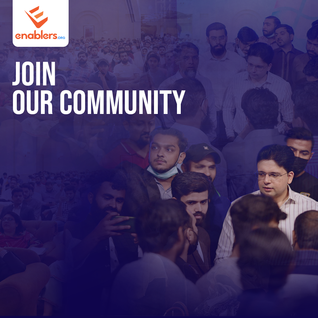 Enabling Join Our Community